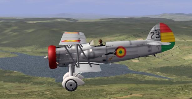 guerra del chaco avion biplano